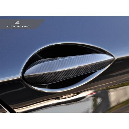 AutoTecknic Dry Carbon Fiber Door Handle Trims - F10 5-Series | F06/ F12/ F13 6-Series | F01 7-Series