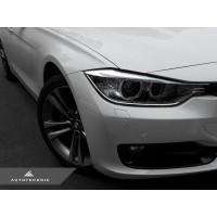 AutoTecknic Painted Front Bumper Reflectors - BMW F30 3-Series (Non-M Sport)