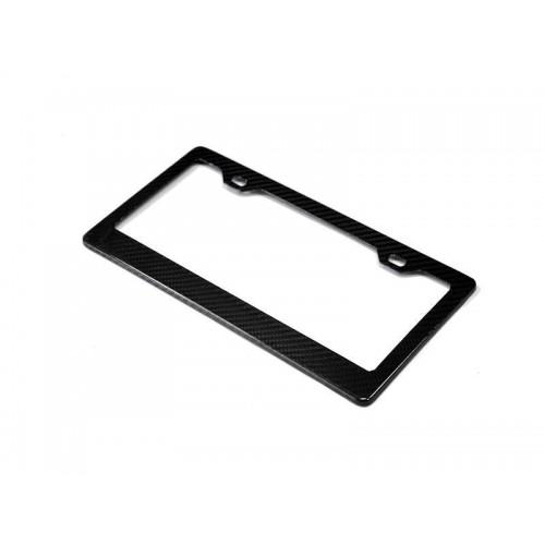 AutoTecknic Dry Carbon Fiber License Plate Frame