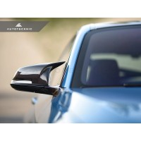 AutoTecknic Replacement Version II M-Inspired Dry Carbon Mirror Covers - F22 2-Series | F30 3-Series | F32/ F36 4-Series | F87 M2