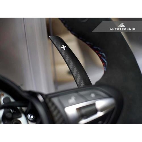 AutoTecknic Dry Carbon Battle Version Shift Paddles - F87 M2 | F80 M3 | F82/ F83 M4 | F10 M5 LCI | F06/ F12/ F13 M6 | F85 X5M | F86 X6M