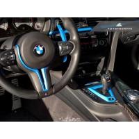 AutoTecknic Painted Steering Wheel Trim - F87 M2 | F80 M3 | F82/ F83 M4 | F10 M5 LCI | F06/ F12/ F13 M6