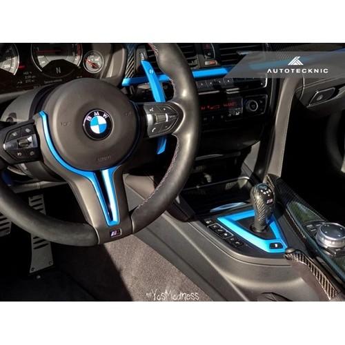 AutoTecknic Painted Steering Wheel Trim - F87 M2   F80 M3   F82/ F83 M4   F10 M5 LCI   F06/ F12/ F13 M6