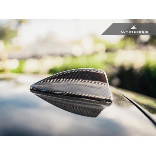 AutoTecknic Dry Carbon Roof Antenna Cover - E82 1-Series | E90 3-Series Sedan | E92 3-Series Coupe Including M3