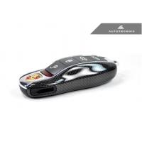 AutoTecknic Replacement Carbon Fiber Key Cover - Porsche