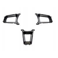 AutoTecknic Dry Carbon Steering Wheel Spoke Trim Set - Porsche 991 / 981 / 718