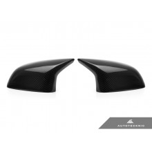 AutoTecknic Replacement Carbon Fiber Mirror Covers - F85 X5M | F86 X6M