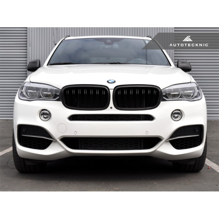 Bmw X6 Xdrive50i Review: AutoTecknic Dual-Slats Kidney Front Grill For 2014+ F15