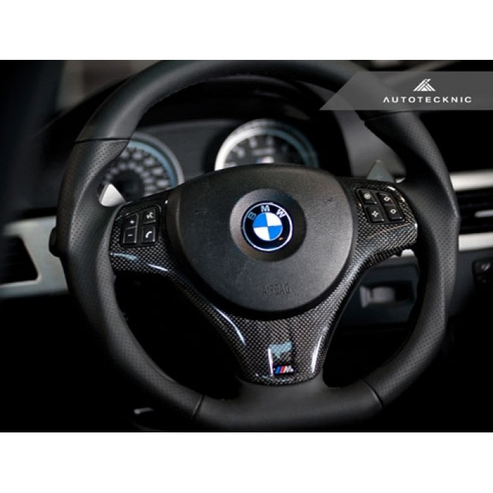 Autotecknic Bmw Carbon Fiber Steering Wheel Trim E90 E92