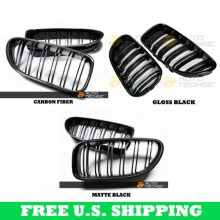 Autotecknic BMW Front Grilles [M6 Style] - F06 Gran Coupe / F12 Coupe / F13 Cabrio | 6 Series & M6 (P/N: BM-0612)