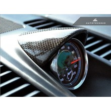 Autotecknic Porsche Carbon Fiber Chrono Eye Lid Cover For 991 Carrera (P/N: PR-0068)