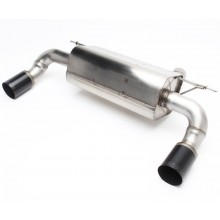 DINAN Free Flow Stainless Exhaust BMW F30 335i | F32 435i (P/N: D660-0045-BLK)